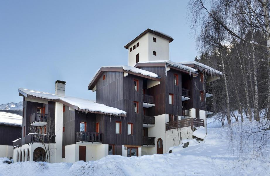 Location au ski Résidence le Chalet de Montchavin - Montchavin La Plagne - Extérieur hiver