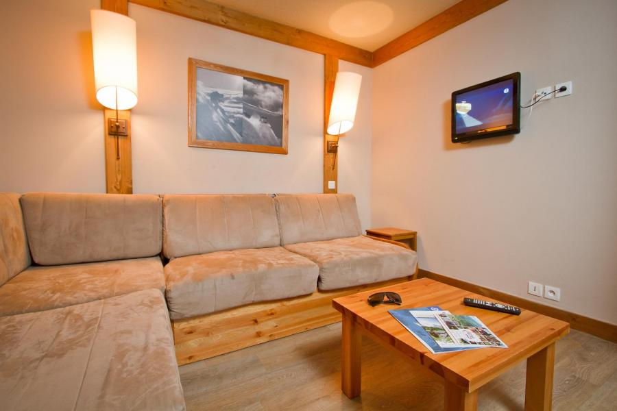 Ski verhuur Résidence le Chalet de Montchavin - Montchavin La Plagne - Woonkamer