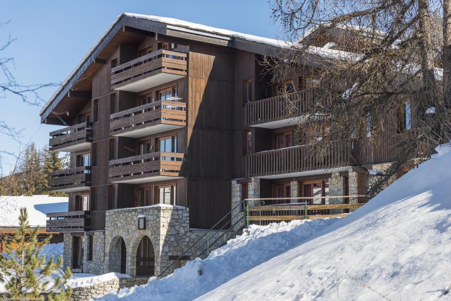 Vacances en montagne Résidence le Damier - Montchavin La Plagne - Extérieur hiver