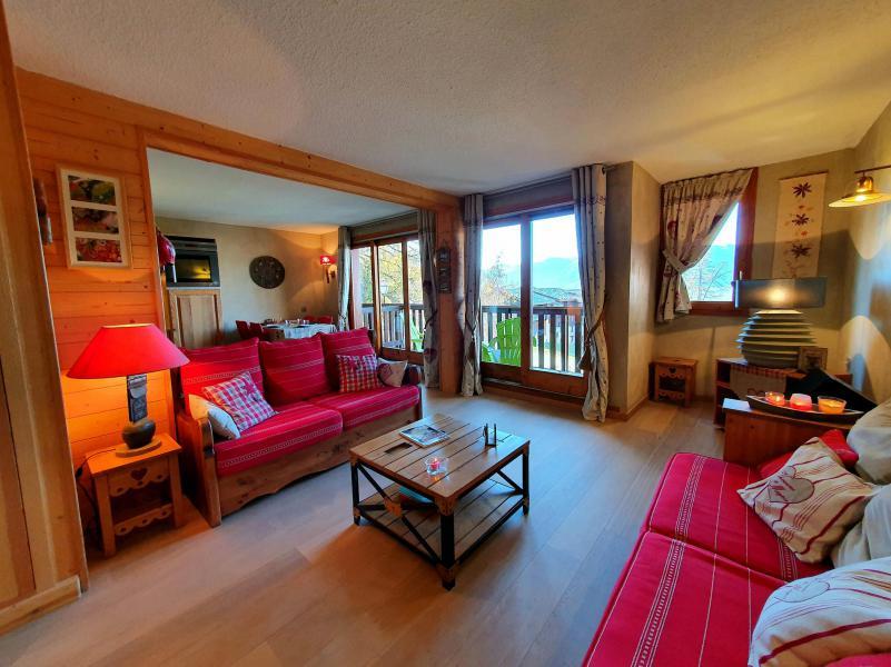 Wynajem na narty Apartament 3 pokojowy 5 osób (012) - Résidence le Damier - Montchavin La Plagne