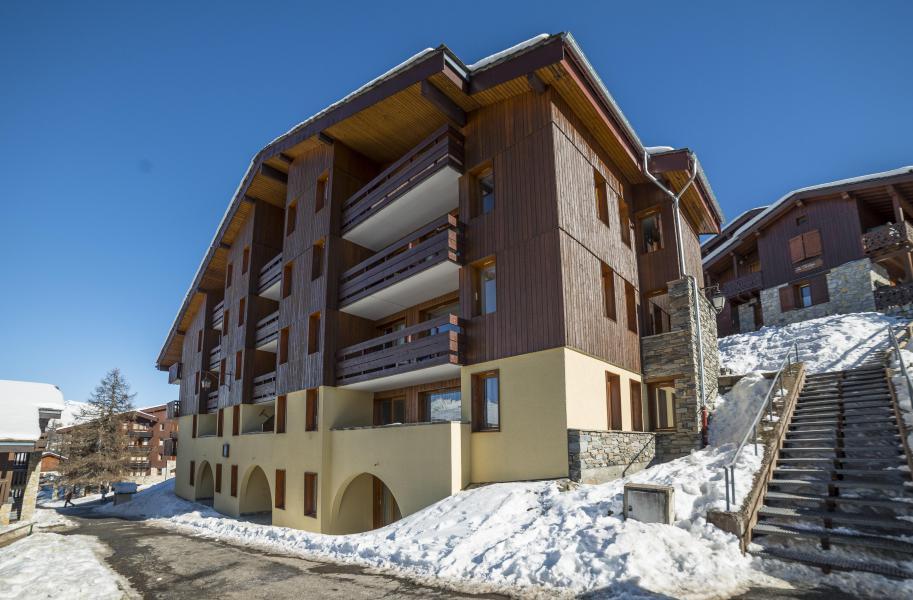 Location au ski Appartement 2 pièces 5 personnes (007) - Résidence le Dé 1 - Montchavin La Plagne - Extérieur hiver