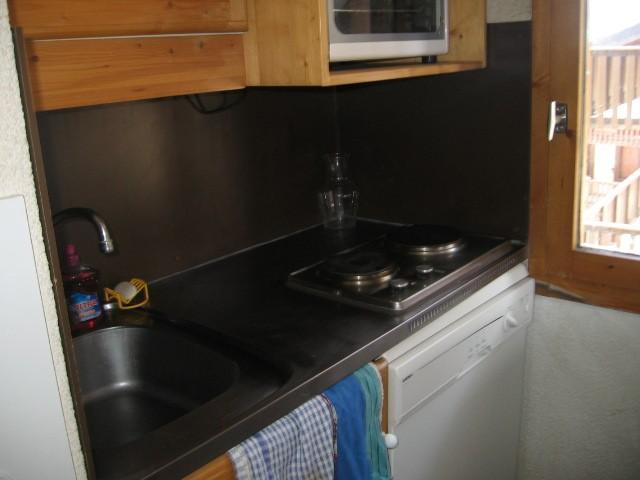 Ski verhuur Appartement 2 kamers 5 personen (006) - Résidence le Dé 1 - Montchavin La Plagne - Keukenblok