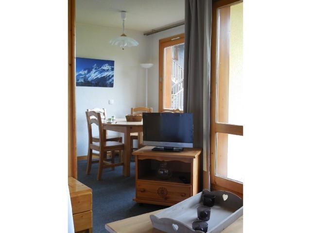 Ski verhuur Appartement 2 kamers 5 personen (006) - Résidence le Dé 1 - Montchavin La Plagne - TV