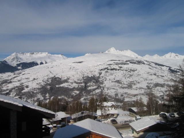 Location au ski Appartement 2 pièces 5 personnes (629) - Residence Le De 2 - Montchavin - La Plagne - Extérieur hiver