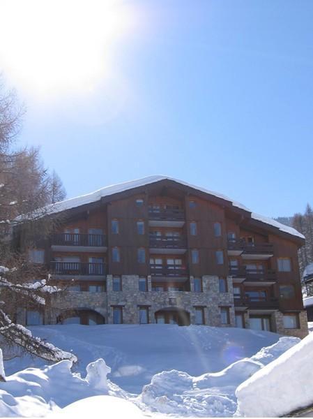 Vacances en montagne Appartement 2 pièces 6 personnes (006) - Résidence le Dé 2 - Montchavin La Plagne - Extérieur hiver