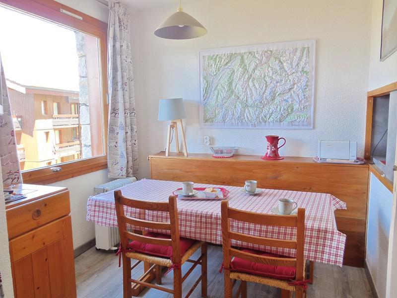 Ski verhuur Appartement 2 kamers 6 personen (006) - Résidence le Dé 2 - Montchavin La Plagne - Tafel