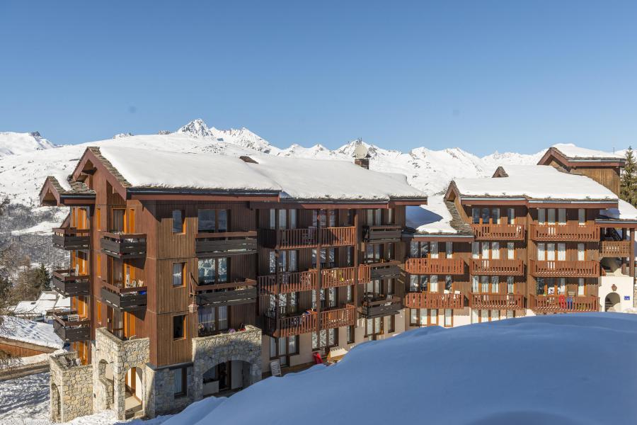 Vacances en montagne Appartement 4 pièces 9 personnes (215) - Résidence le Dé 3 - Montchavin La Plagne - Extérieur hiver