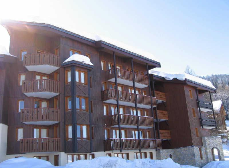 Ski verhuur Studio 4 personen (106) - Résidence le Dé 3 - Montchavin La Plagne