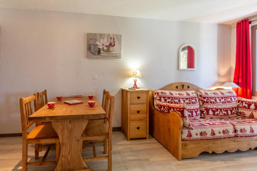 Ski verhuur Appartement 2 kamers 4 personen (008) - Résidence le Dé 3 - Montchavin La Plagne - Tafel