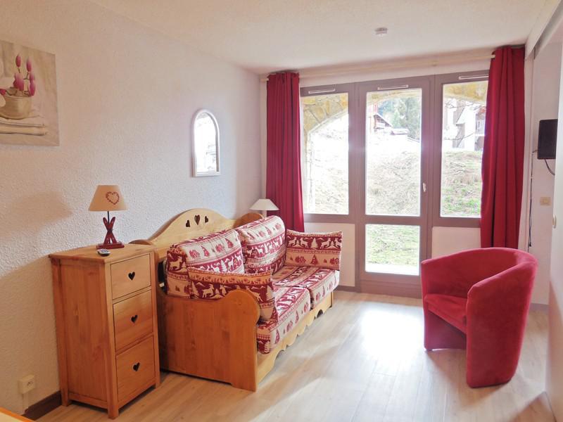 Ski verhuur Appartement 2 kamers 4 personen (008) - Résidence le Dé 3 - Montchavin La Plagne - Woonkamer