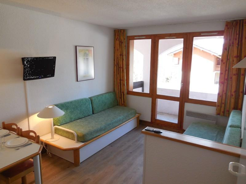 Location au ski Studio 4 personnes (102) - Résidence le Dé 3 - Montchavin La Plagne - Appartement