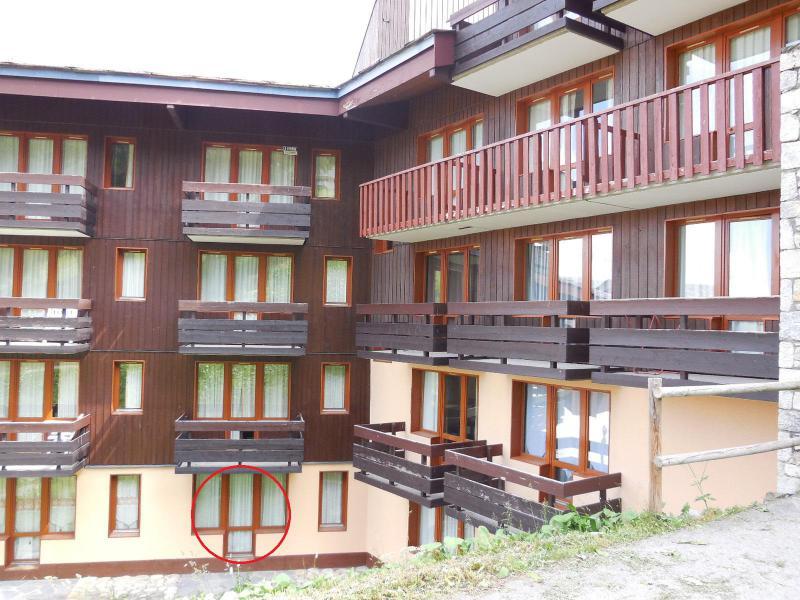 Location au ski Studio 4 personnes (117) - Résidence le Dé 4 - Montchavin La Plagne