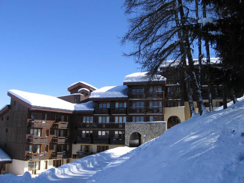 Vacances en montagne Studio coin montagne 4 personnes (116) - Résidence le Dé 4 - Montchavin La Plagne - Extérieur hiver