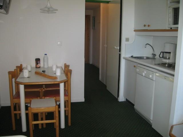Ski verhuur Appartement 2 kamers 4 personen (723) - Résidence le Dé 4 - Montchavin La Plagne - Keukenblok