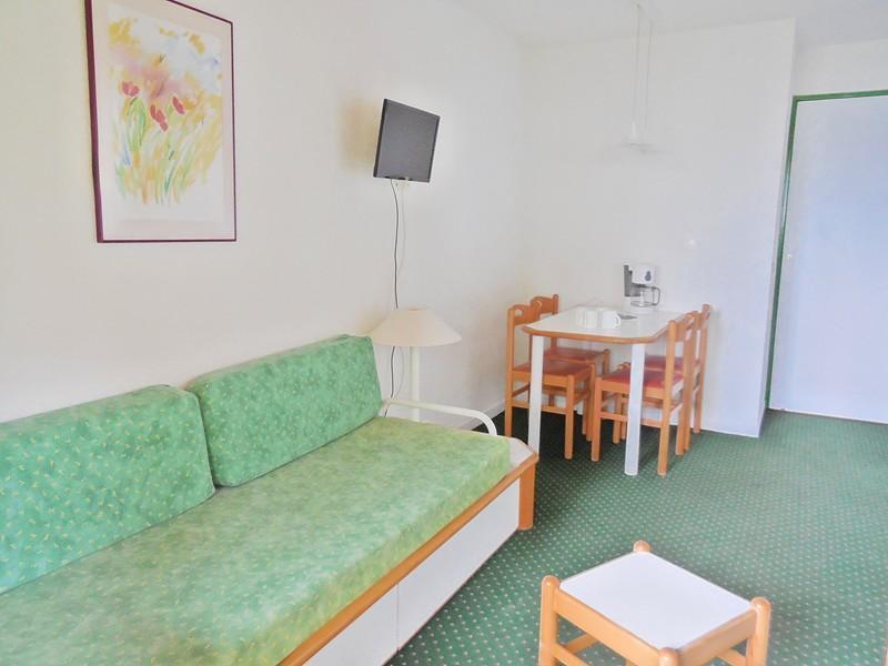 Ski verhuur Appartement 2 kamers 4 personen (723) - Résidence le Dé 4 - Montchavin La Plagne - Woonkamer
