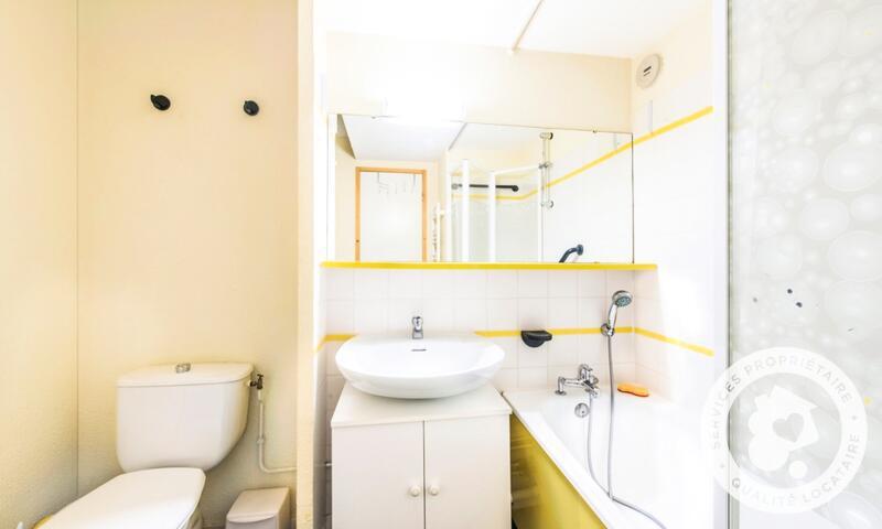 Vacances en montagne Appartement 2 pièces 4 personnes (Confort 28m²) - Résidence le Hameau du Sauget - Maeva Home - Montchavin La Plagne - Extérieur hiver