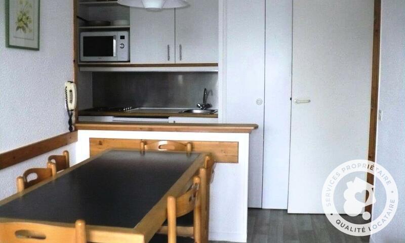 Vacances en montagne Appartement 2 pièces 6 personnes (Confort 33m²) - Résidence le Hameau du Sauget - Maeva Home - Montchavin La Plagne - Extérieur hiver