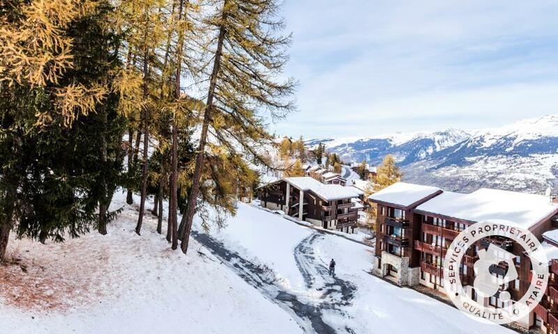 Vacances en montagne Studio 4 personnes (Sélection 27m²) - Résidence le Hameau du Sauget - Maeva Home - Montchavin La Plagne - Extérieur hiver