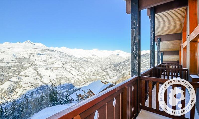 Vacances en montagne Appartement 2 pièces 5 personnes (Confort 22m²) - Résidence le Hameau du Sauget - Maeva Home - Montchavin La Plagne - Extérieur hiver