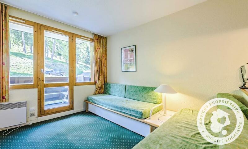 Vacances en montagne Appartement 2 pièces 4 personnes (Confort 22m²) - Résidence le Hameau du Sauget - Maeva Home - Montchavin La Plagne - Extérieur hiver