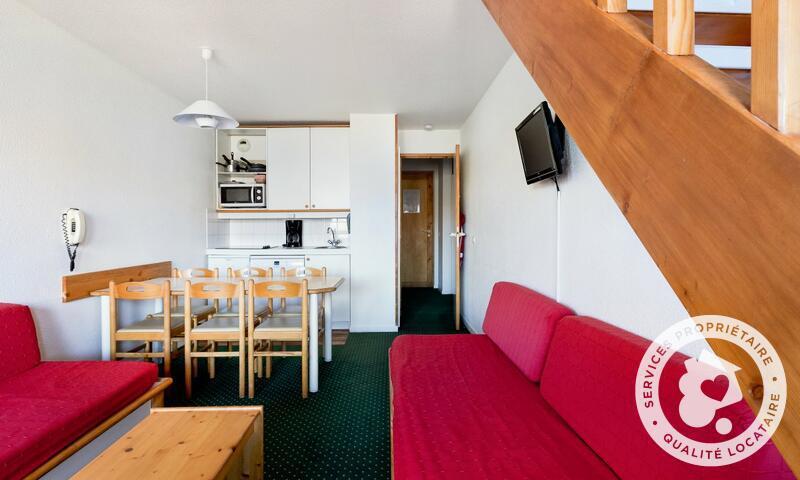 Vacances en montagne Appartement 3 pièces 7 personnes (Confort -3) - Résidence le Hameau du Sauget - Maeva Home - Montchavin La Plagne - Extérieur hiver