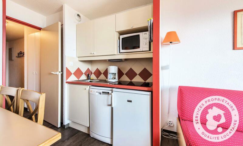 Vacances en montagne Appartement 2 pièces 4 personnes (25m²-3) - Résidence le Hameau du Sauget - Maeva Home - Montchavin La Plagne - Extérieur hiver
