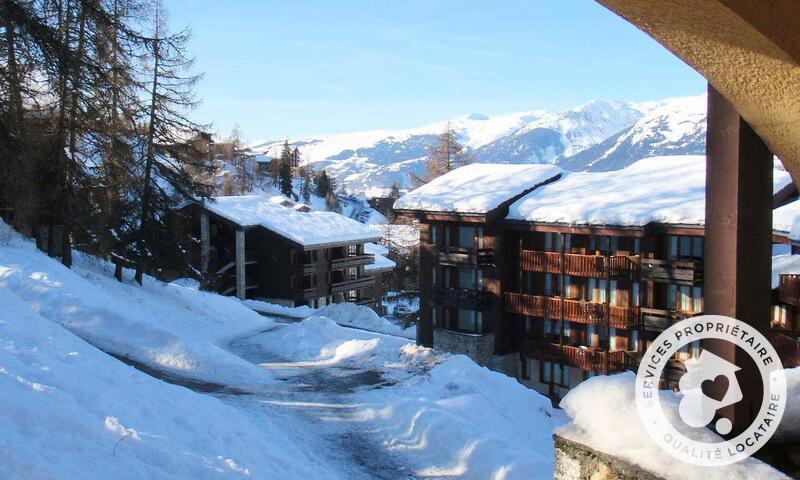 Vacances en montagne Appartement 2 pièces 4 personnes (Confort -1) - Résidence le Hameau du Sauget - Maeva Home - Montchavin La Plagne - Extérieur hiver
