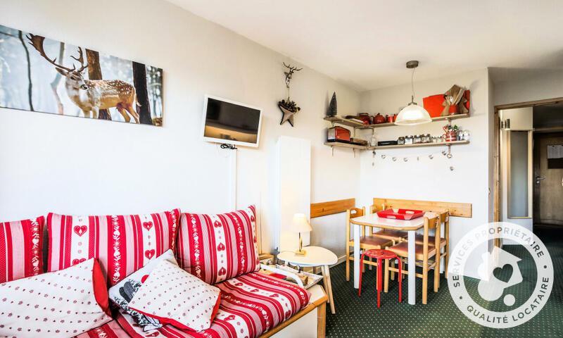 Vacances en montagne Appartement 2 pièces 4 personnes (Confort -2) - Résidence le Hameau du Sauget - Maeva Home - Montchavin La Plagne - Extérieur hiver