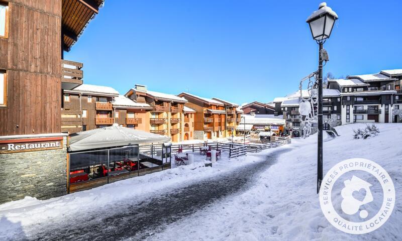 Vacances en montagne Résidence le Hameau du Sauget - Maeva Home - Montchavin La Plagne - Extérieur hiver