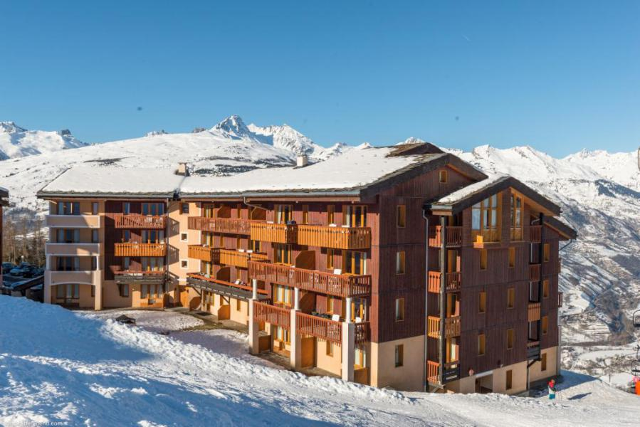 Vacances en montagne Appartement 2 pièces 5 personnes (216) - Résidence le Rami - Montchavin La Plagne - Extérieur hiver