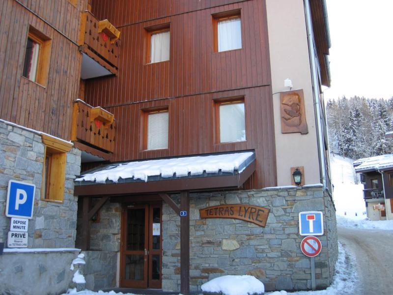 Location au ski Résidence le Tétras Lyre - Montchavin La Plagne - Extérieur hiver
