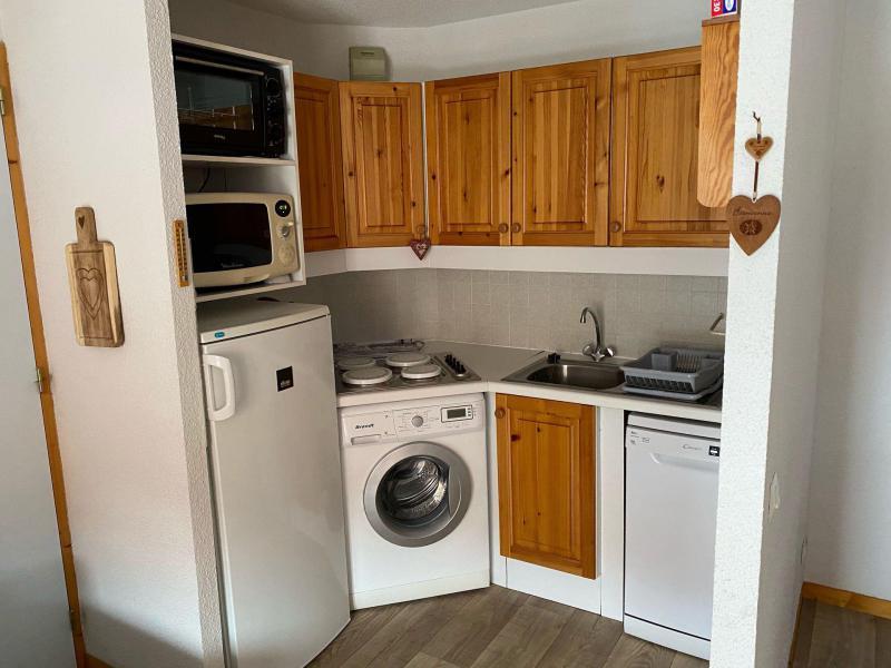 Location au ski Appartement 2 pièces 6 personnes (104) - Résidence le Tétras Lyre - Montchavin La Plagne - Kitchenette