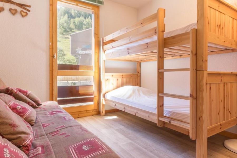 Location au ski Appartement 2 pièces 6 personnes (104) - Résidence le Tétras Lyre - Montchavin La Plagne - Lits superposés