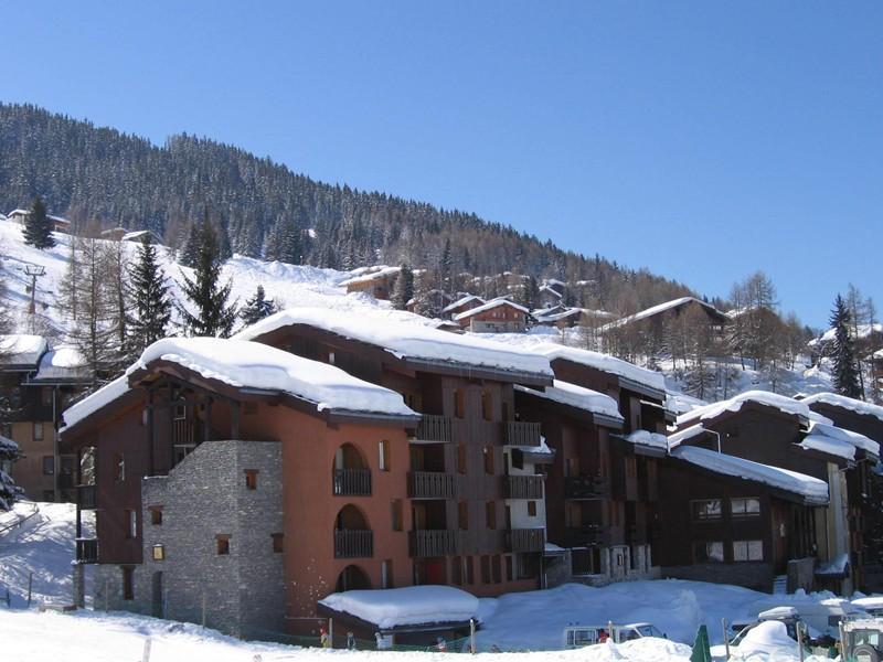 Vacances en montagne Appartement duplex 3 pièces 6 personnes (030) - Résidence le Zig Zag - Montchavin La Plagne - Extérieur hiver