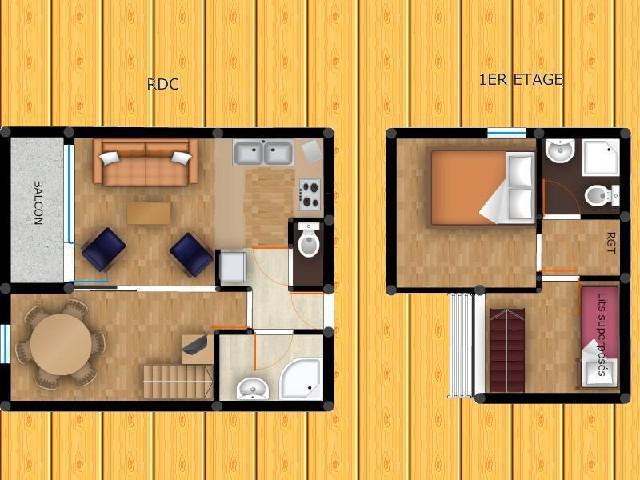 Location au ski Appartement duplex 3 pièces 6 personnes (025) - Résidence le Zig Zag - Montchavin La Plagne