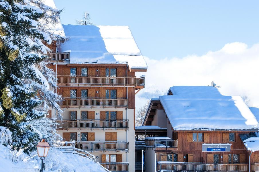 Location au ski Résidence les Chalets de Wengen - Montchavin La Plagne - Extérieur hiver