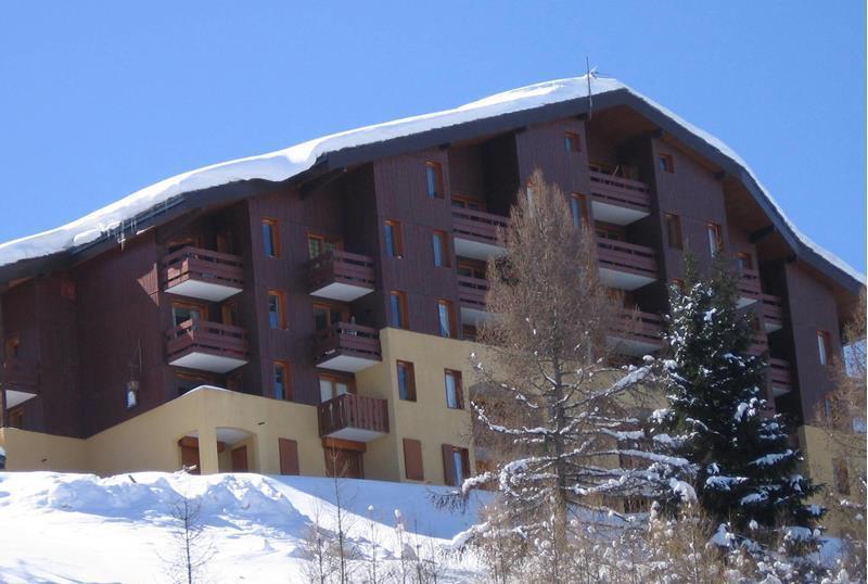Location au ski Appartement 2 pièces 4 personnes (034) - Résidence Pendule - Montchavin La Plagne - Extérieur hiver