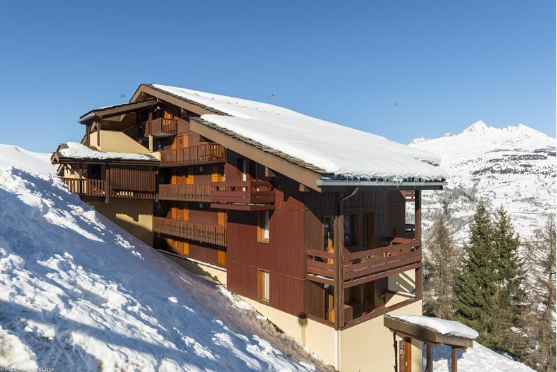 Ski verhuur Studio 3 personen (002) - Résidence Pendule - Montchavin La Plagne - Buiten winter