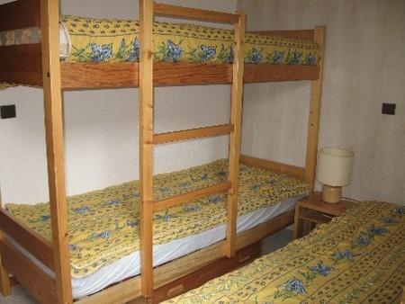 Location au ski Appartement 2 pièces 4 personnes (034) - Résidence Pendule - Montchavin La Plagne - Lits superposés