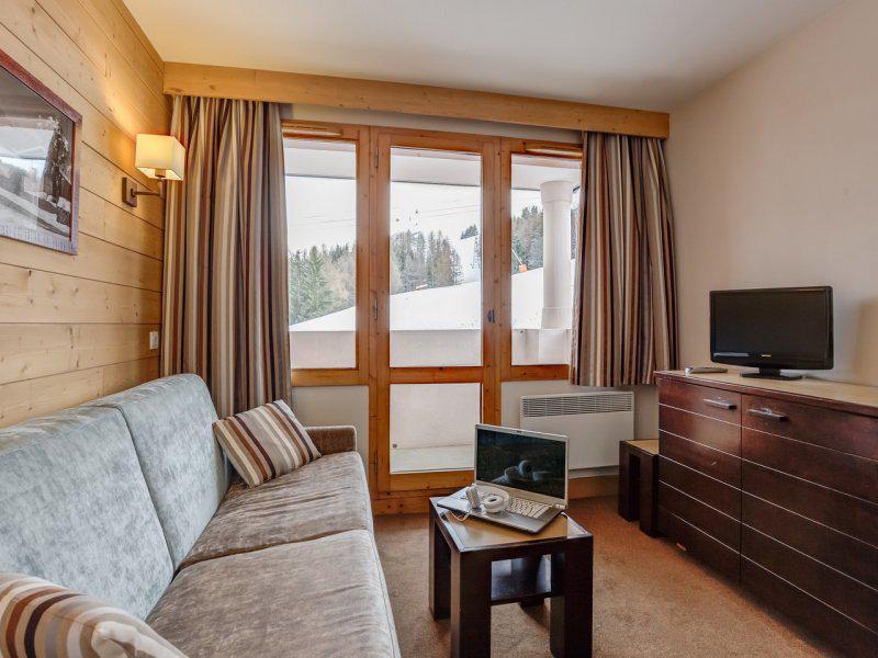 Alquiler al esquí Apartamento 2 piezas para 4 personas - Résidence Pierre & Vacances Marelle & Rami - Montchavin La Plagne