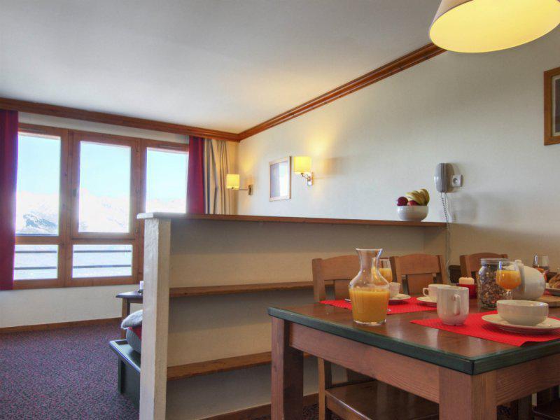 Location au ski Appartement 2 pièces 5-7 personnes - Résidence Pierre & Vacances Marelle & Rami - Montchavin La Plagne