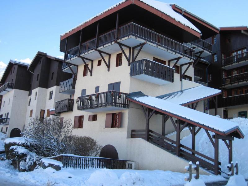 Holiday in mountain resort Résidence Porte de Montchavin - Montchavin - La Plagne - Winter outside