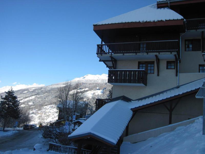 Vakantie in de bergen Résidence Porte de Montchavin - Montchavin La Plagne - Buiten winter
