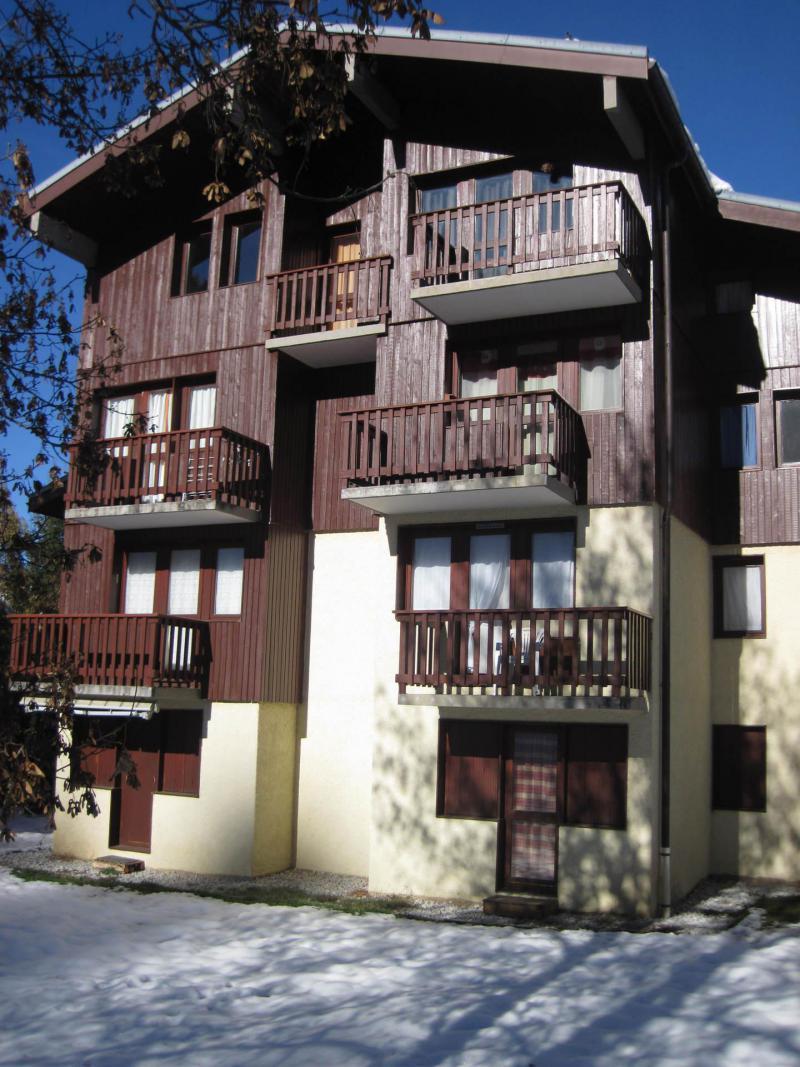 Holiday in mountain resort Résidence Rochette - Montchavin La Plagne - Winter outside