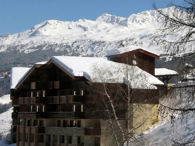 Ski verhuur Résidence Sextant - Montchavin La Plagne - Buiten winter