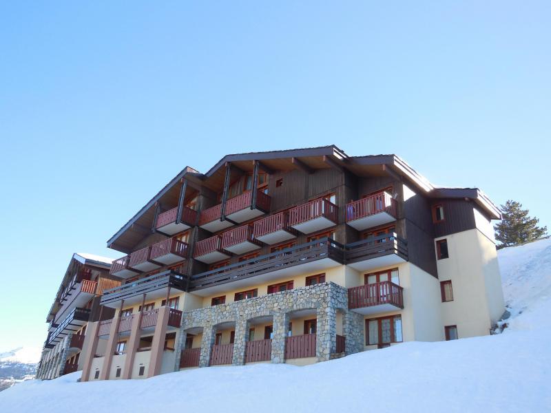 Location au ski Appartement 2 pièces 5 personnes (107) - Résidence Sextant - Montchavin La Plagne - Extérieur hiver