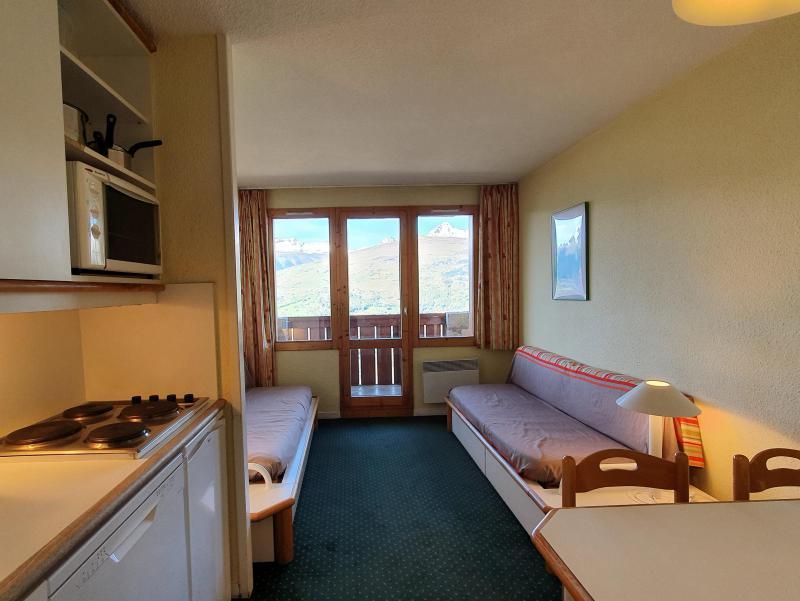 Ski verhuur Appartement 2 kamers 5 personen (104) - Résidence Sextant - Montchavin La Plagne - Bedbank