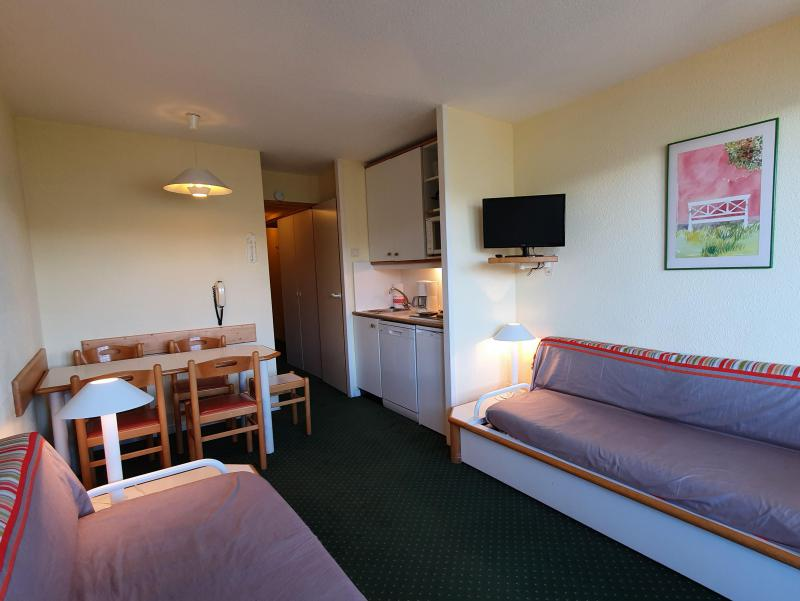 Ski verhuur Appartement 2 kamers 5 personen (104) - Résidence Sextant - Montchavin La Plagne - Zitbank