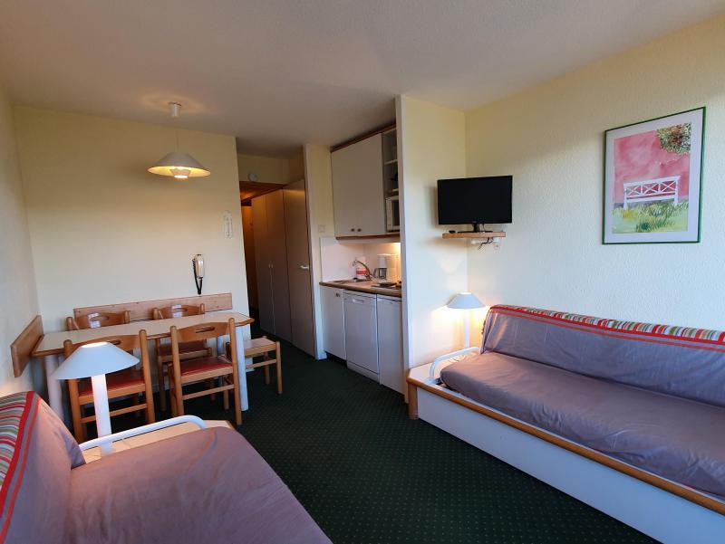 Location au ski Appartement 2 pièces 5 personnes (104) - Résidence Sextant - Montchavin La Plagne - Banquette