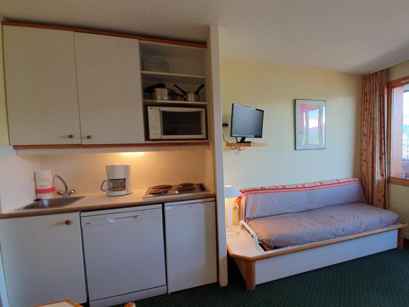 Location au ski Appartement 2 pièces 5 personnes (104) - Résidence Sextant - Montchavin La Plagne - Kitchenette